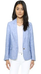 Joie Pernilla Blazer Washed Denim