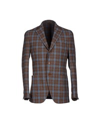 Michelangelo Suits And Jackets Blazers Men Cocoa