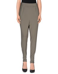 Oblique Trousers Casual Trousers Women Grey