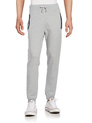Cult Of Individuality Cotton Jogger Pants Heather Grey