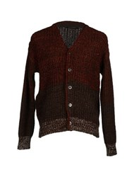 H Lls B Lls Knitwear Cardigans Men Dark Brown