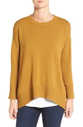 Eileen Fisher Women's Cashmere And Wool Blend Oversize Sweater