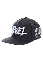 Cayler And Sons Rebel Cap Vintage Black Woodland White