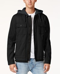 Tavik Men's Droogs Full Zip Jacket Black Hthr