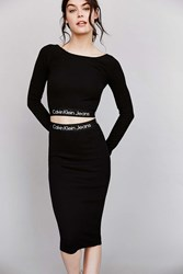 Calvin Klein X Uo Set Tube Skirt Black