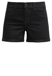 Noisy May Nmparis Denim Shorts Black Black Denim
