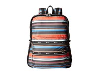 Le Sport Sac Functional Backpack Ribbon Stripe Backpack Bags Multi
