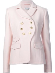 Altuzarra 'Seth' Blazer Pink And Purple
