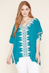 Forever 21 Plus Size Poncho Top