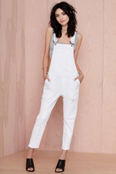 Nasty Gal Citizens Of Humanity Audrey Slim Overalls