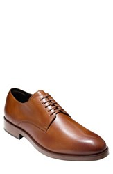 Cole Haan Men's 'Harrison Grand' Plain Toe Derby British Tan Leather