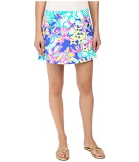 Lilly Pulitzer Madison Skort Iris Blue Casa Azul Women's Skort Multi