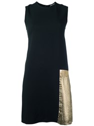 Markus Lupfer Sleeveless Shift Dress Black