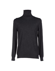 Zanone Knitwear Turtlenecks Men Dark Blue