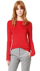 Carven Sweater Rouge