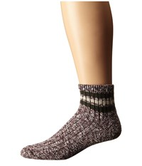 Wigwam Mar Lee Quarter 1 Pair Pack Rouge Charcoal Quarter Length Socks Shoes Brown