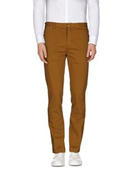 M.Grifoni Denim Trousers Casual Trousers Men Camel