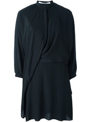 Chalayan Draped Blouse Black