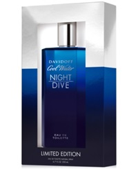 Davidoff Cool Water Nightdive Eau De Toilette 6.7 Oz Limited Edition