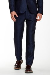 Ted Baker Nitetro Mini Heringbone Trouser Blue
