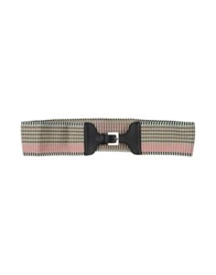 Missoni Belts Light Green
