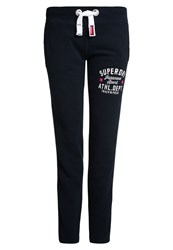 Superdry Trackster Non Cuffed Joggers Navy
