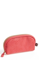 Stephandco 'Mini Dome Pink Python' Cosmetics Case Nordstrom Exclusive