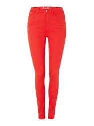 Blend She Glow Demon Slim Jeans Red