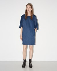 3.1 Phillip Lim Flare Sleeve Dress Blue