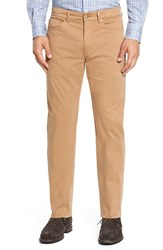 Peter Millar Men's Stretch Sateen Five Pocket Pants Malt