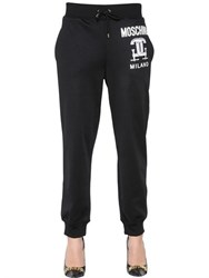 Moschino Tools Cotton Blend Jersey Jogging Pants