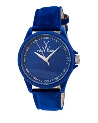 Toywatch Sartorial Washed Leather Watch Blue