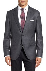 Boss Men's 'Jayson' Trim Fit Houndstooth Wool Sport Coat