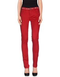 Desigual Trousers Casual Trousers Women Red