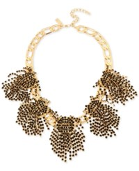 Inc International Concepts Rhinestone Statement Necklace Only At Macy's Black