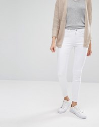 Only Ultimate Soft Skinny Jean Short White