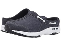 Easy Spirit Travelport Navy Navy Suede Women's Shoes Blue