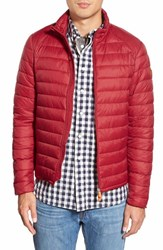 Men's Save The Duck Water Resistant Puffer Jacket True Red