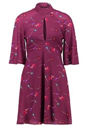 Oh My Love Carmella Summer Dress Autumn Dark Purple