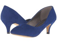 Michael Antonio Jimmy Suede Cobalt Women's 1 2 Inch Heel Shoes Blue