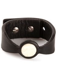 Rick Owens Buffalo Bone Cuff Black