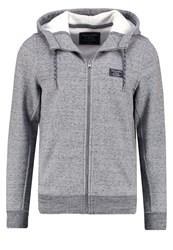 Abercrombie And Fitch Tracksuit Top Grey Mottled Grey