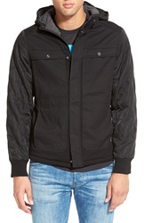 Howe 'King Slayer' Hooded Jacket Black