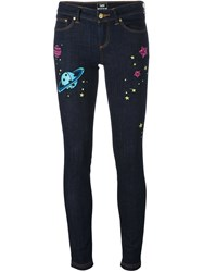 House Of Holland 'Hoh X Lee Collaboration' Skinny Jeans Blue