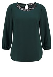 Anna Field Blouse Scarab Dark Green