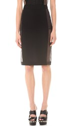 Jean Paul Gaultier Pencil Skirt Black