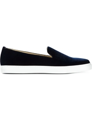 Alberto Moretti Slip On Sneakers Blue