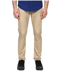 Armani Jeans Slim Fit Button Fly Jeans In Eggshell