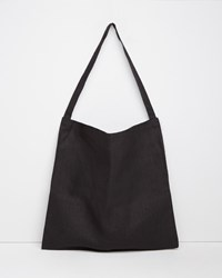 Fog Linen Work Johann Crossbody Bag Black