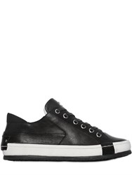 Crime Two Tone Leather Sneakers